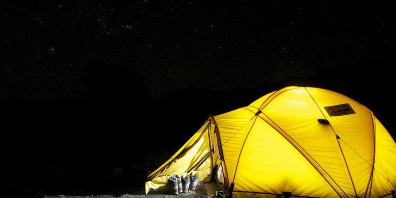 Pop up tält gör tältturen smidig och bekväm